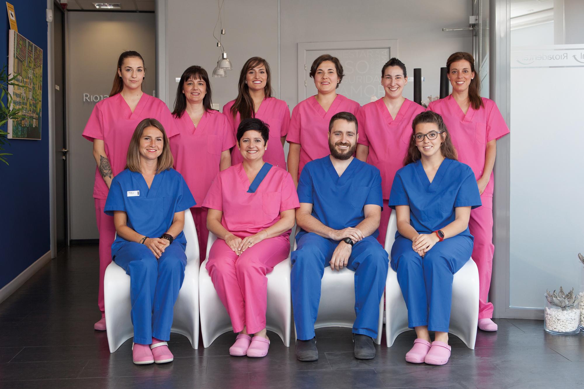 equipo clínica dental logroño